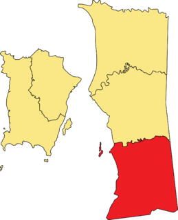 District of Malaysia in Penang
