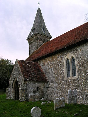 South Stoke, West Sussex - Image: South Stoke Church 2