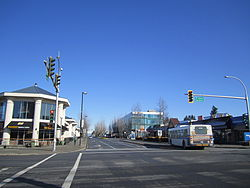 Corner of 152nd Street and 16th Avenue, bordering White Rock