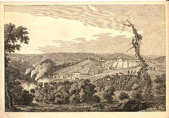 Coalbrookdale - Coalbrookdale in 1758