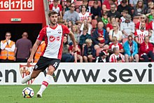 16cf6534216 Jack Stephens scored his first two goals for the club to help temporarily  lift them out of the relegation zone. Southampton ...