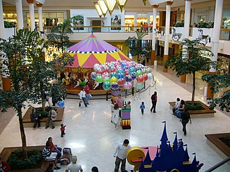 South Coast Plaza - The mall's center court