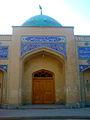 Southern door of Mausoleum of Hassan Modarres - Kashmar.jpg