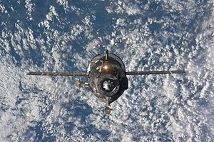 Soyuz TMA-19 - Soyuz TMA-19 relocates from the Zvezda Service Module's aft port to the Rassvet Mini-Research Module 1.