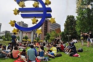 Spanish revolution Frankfurt 08
