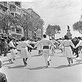 Spanje, diversen, volksdansen in Tarragona, Bestanddeelnr 918-0151.jpg