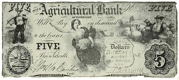 Wildcat money - pengar som är kopplade till en enda bank