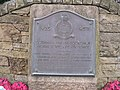 Spitfire Memorial Plaque - Edinburgh Airport - geograph.org.uk - 525280.jpg