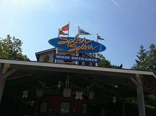 Splish Splash water park in Calverton, New York, USA