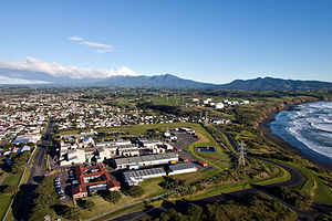 Spotswood, New Zealand - Image: Spotswood and beyond