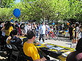 Sproul Plaza during Cal Day 2010 2.JPG