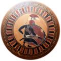 Squatting warrior Staatliche Antikensammlungen 8966 white-balanced white-bg.png