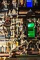 Sri Mahamariamman Temple, Kuala Lumpur. Gopuram from the East. Sculpture. 2019-12-10 22-06-59.jpg