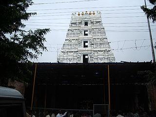 Mallikarjuna Jyotirlinga building in India