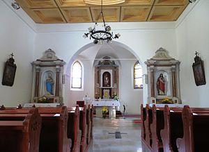 Srpenica - Church interior
