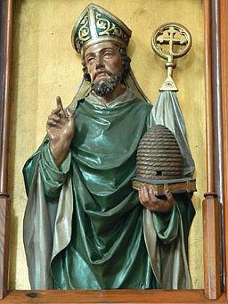 St.Peter am Wimberg Kirche - Kanzel 4 Ambrosius