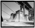 St. John's Bridge, Spans Willamette River at US Highway 30, Portland, Multnomah County, OR HAER ORE,26-PORT,13-29.tif