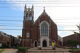 St. John Berchman Shreveport Cathedral front view.JPG