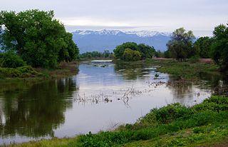 St. Johns River (California) river in Visalia, California, United States of America