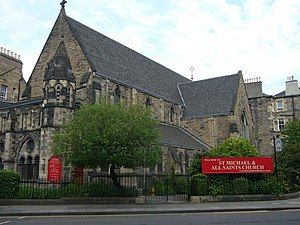Church of St Michael and All Saints, Edinburgh - Image: St. Michael And All Saints, Brougham Street geograph.org.uk 1322008