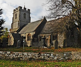 John Stoughton (priest) - St Andrew's church, Aller, where John Stoughton succeeded Dr Cudworth in 1624