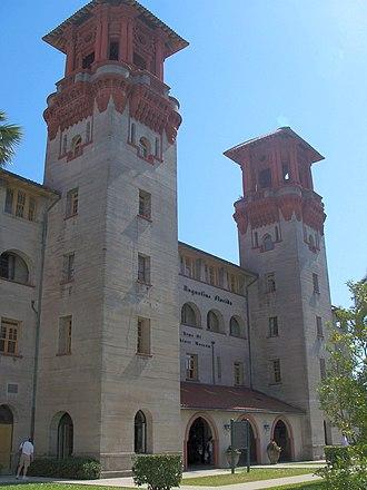National Register of Historic Places listings in St. Johns County, Florida - Image: St Aug Alcazar Lightner 01