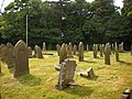 St Cuthbert's Church, Halsall, Graveyard - geograph.org.uk - 1384314.jpg