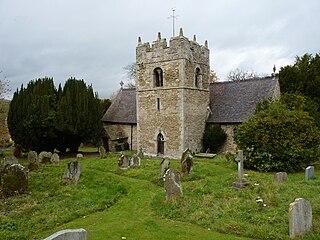 St Ediths Church, Eaton-under-Heywood Church in Shropshire, England