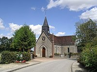 St Firmin Church in Normandel France 1925.jpg