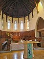 St Leonard's Church, Seaford, interior, altar.jpg