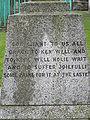 St Mary's, Chesham; Thomas Harding memorial side.JPG