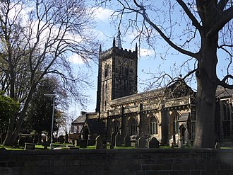 Whitkirk - Image: St Mary's Church, Whitkirk, Leeds, West Yorkshire