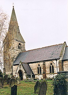 Fotherby village in the United Kingdom