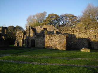 Jarrow - The ruins of St. Paul's Monastery