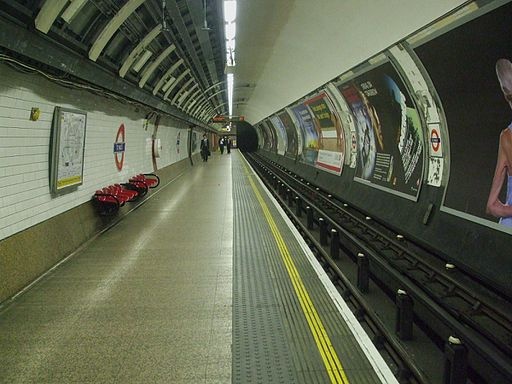 St Pauls stn westbound look east
