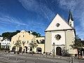 Stadtmitte Bad Aibling mit Schloss Prantshausen und Sebastianikirche.jpg