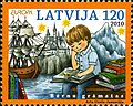Stamps of Latvia, 2010-07.jpg