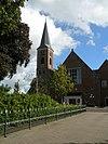 staphorst, gemeenteweg 52, kerk +kerktoren rm-34246-wlm