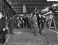 Statiebezoek van de Sjah aan Nederland, 2e dag, Bezoek aan Fokkerfabrieken in de, Bestanddeelnr 910-3825.jpg