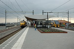 Breukelen railway station - Image: Station Breukelen in 2007