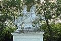Statue équestre de Louis XIV sous les traits de Marcus Curtius le 11 septembre 2015 - 03.jpg