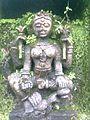 Statue of Goddess at Entrance of Girnar.jpg