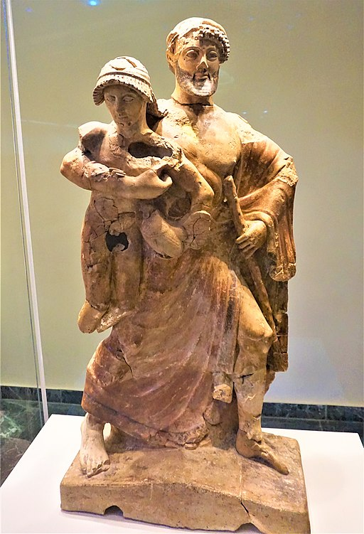 Statue of Zeus and Ganymede