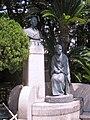 Statues of Kazuo and Haruko Hatoyama.jpg