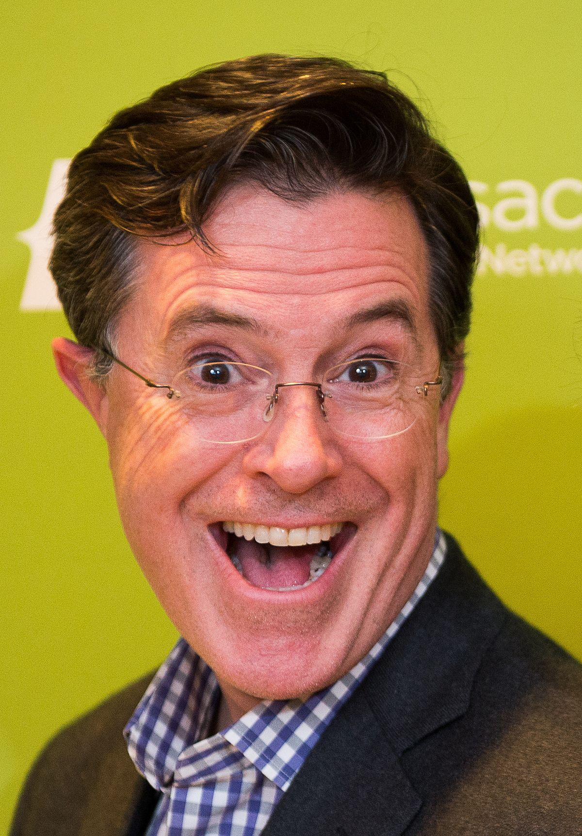 Stephen Colbert S Dog Image