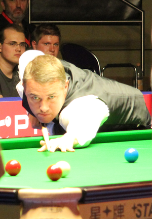 Stephen Hendry beim Paul Hunter Classic 2011
