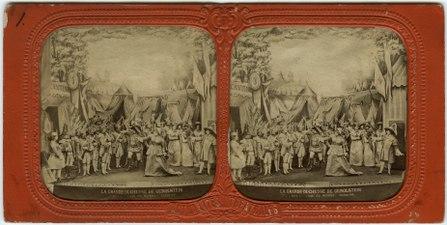 Stereokort, La Grande-Duchesse de Gérolstein 1, acte I, scène VIII - SMV - S120a.tif