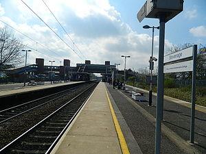 Stevenage railway station - Stevenage railway station