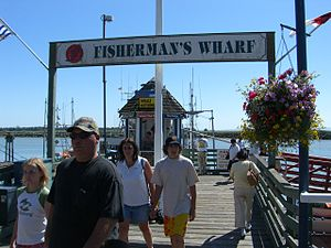 Steveston, British Columbia - Steveston Fishermen's Wharf