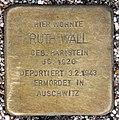 Stolperstein Bartningallee 7 (Hansa) Ruth Wall.jpg